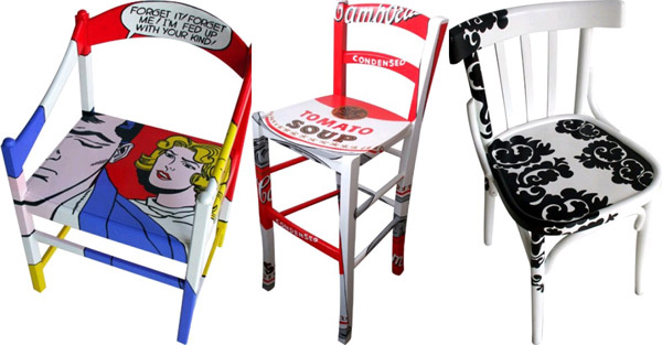 upcycled chair, επανάχρηση επίπλων, ανακύκλωση αντικειμένων